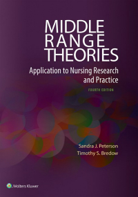 Middle Range Theories, 4th ed.- Application to Nursing Research & Practice