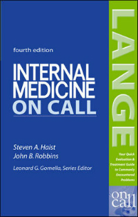 Internal Medicine on Call, 4th ed.- Lange Medical Book