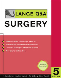 Lange Q&a: Surgery, 5th ed.