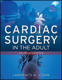 Cardiac Surgery in the Adult, 4th ed.(With DVD-ROM)