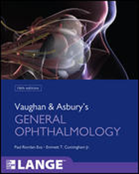 Vaughan & Asbury's General Ophthalmology, 18th ed.