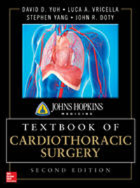 Johns Hopkins Textbook of Cardiothoracic Surgery,2nd ed.