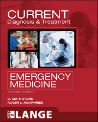 Current Diagnosis & Treatment in Emergency Medicine,7th ed.