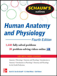 Schaum's Outline of Human Anatomy & Physiology, 4th ed.