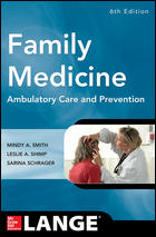 Family Medicine, 6th ed.- Ambulatory Care & Prevention