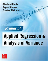 Primer of Applied Regression & Analysis of Variance,3rd ed.