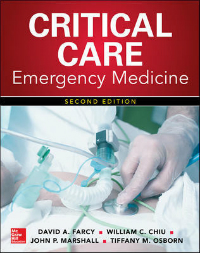 Critical Care Emergency Medicine,  2nd ed.
