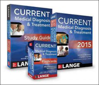 Current Medical Diagnosis & Treatment 2015 Val Pak- Book, Study Guide, Flash Cards