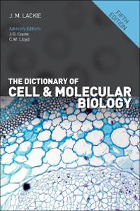 Dictionary of Cell & Molecular Biology, 5th ed.