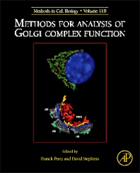 Methods in Cell Biology, Vol.118- Methods for Analysis of Golgi Complex Function