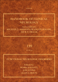 Handbook of Clinical Neurology, Vol.139- Functional Neurologic Disorders