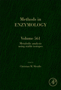 Methods in Enzymology, Vol.561- Metabolic Analysis Using Stable Isotopes