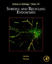 Methods in Cell Biology, Vol.130- Sorting & Recycling Endosomes