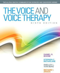 Voice & Voice Therapy, 9th ed.