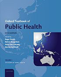 Oxford Textbook of Public Health, 5th ed.,HardcoverIn 3 vols.: Vol.1;the Scope, Vol.2;the Methods,Vol.3;the Practice