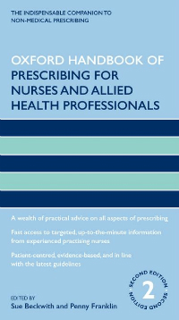 Oxford Handbook of Prescribing for Nurses & AppliedHealth Professionals, 2nd ed.