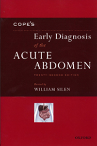 Cope's Early Diagnosis of the Acute Abdomen, 22nd ed.,Paper ed.