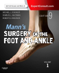 Mann's Surgery of the Foot & Ankle, 9th ed.,in 2 vols.