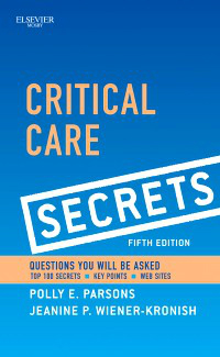 Critical Care Secrets, 5th ed.