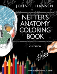 Netter's Anatomy Coloring Book, 2nd ed.