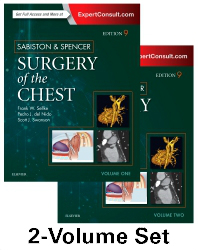 Sabiston & Spencer Surgery of the Chest, 9th ed.,In 2 vols.