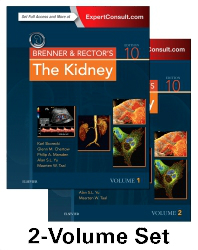 Brenner & Rector's the Kidney, 10th ed., in 2 vols.(Vital Source E-Book)