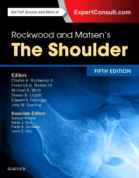 Rockwood & Matsen's the Shoulder, 5th ed.