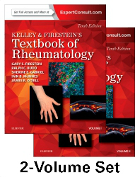 Kelley & Firestein's Textbook of Rheumatology, 10th ed.In 2vols.