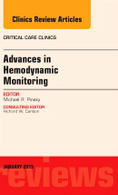 Advances in Hemodynamic Monitoring- An Issue of Critical Care Clinics