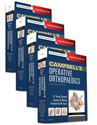 Campbell's Operative Orthopaedics, 13th ed., in 4 vols.