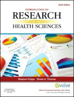 Introduction to Research in the Health Sciences, 6th