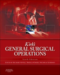 Kirk's General Surgical Operations, 6th ed.