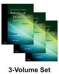 Jubb, Kennedy & Palmer's Pathology of Domestic Animals,6th ed.,in 3 vols.