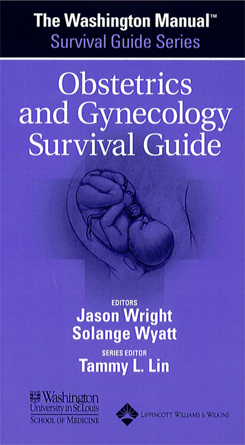 Obstetrics & Gynecology Survival Guide(Washington Manual)