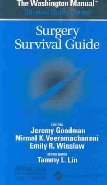 Surgery Survival Guide (Washington Manual)