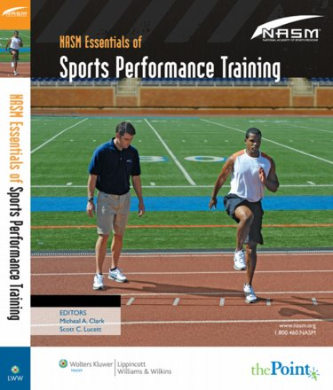 NASM Essentials of Sports Performance Training(Natioanl Academy of Sports Medicine)
