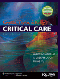 Civetta, Taylor & Kirby's Critical Care, 4th ed.