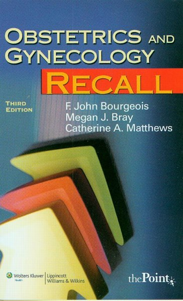 Obstetrics & Gynecology Recall, 3rd Edition
