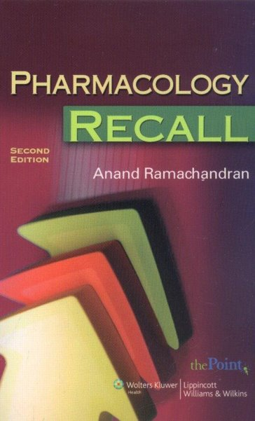 Pharmacology Recall, 2nd Edition (Print &Audio Package)- Includes Full Access to Audio Files