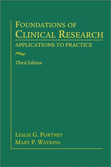 Foundations of Clinical Research, 3rd ed.,Hard Cover- Applications to Practice