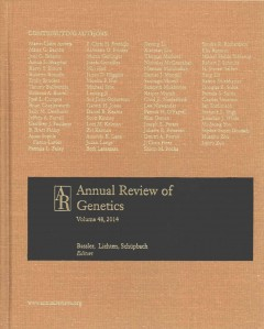 Annual Review of Genetics, Vol.48 (2014)