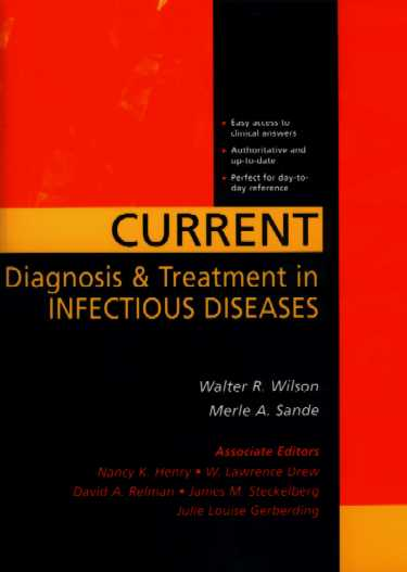 Current Diagnosis & Treatment in Infectious Disease