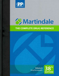Martindale, 38th ed.(2014), in 2 vols.- Complete Drug Reference