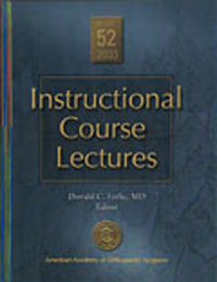 Instructional Course Lectures, Vol.52 (2003)- With Index for 1999-2003 (With DVD)