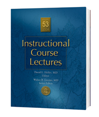 Instructional Course Lectures, Vol.53 (2004)(With DVD)