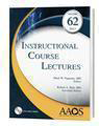 Instructional Course Lectures, Vol.62 (2013)(With DVD-ROM)