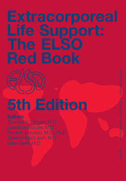 Extracorporeal Life Support: Elso Red Book, 5th ed.