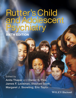 Rutter's Child & Adolescent Psychiatry, 6th ed.,Hardcover