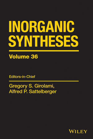 Inorganic Syntheses, Vol.36