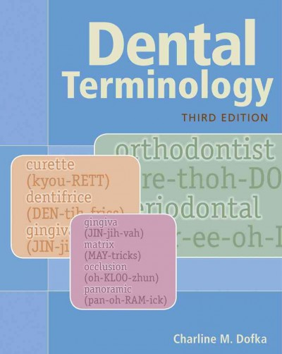 Dental Terminology, 3rd ed.(With CD-ROM)